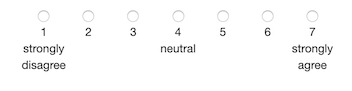 7-Point Likert Scale